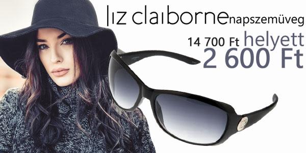 Liz Claiborne napszemüvegek -82% kedvezménnyel!