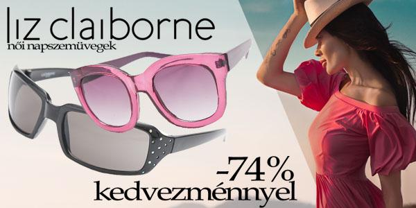 Liz Claiborne napszemüvegek -74% kedvezménnyel!