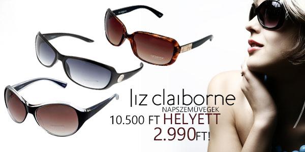 Liz Claiborne napszemüvegek 2 990 Ft-ért!