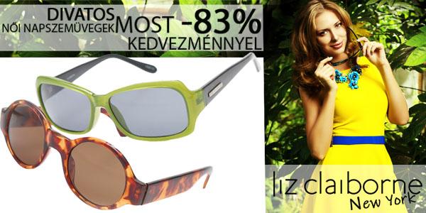 Liz Claiborne női napszemüvegek -83% kedvezménnyel!