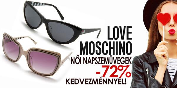 Love Moschino napszemüvegek -72% kedvezménnyel!