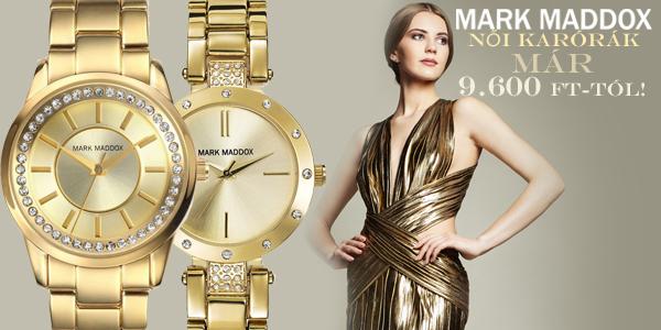 Mark Maddox női karórák már 9 600 Ft-tól!