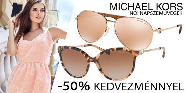 Michael Kors női napszemüvegek -50% kedvezménnyel!