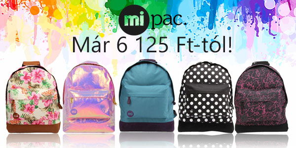 Mi-Pac táskák 6 125 Ft-tól!