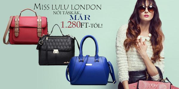 Miss Lulu London női táskák