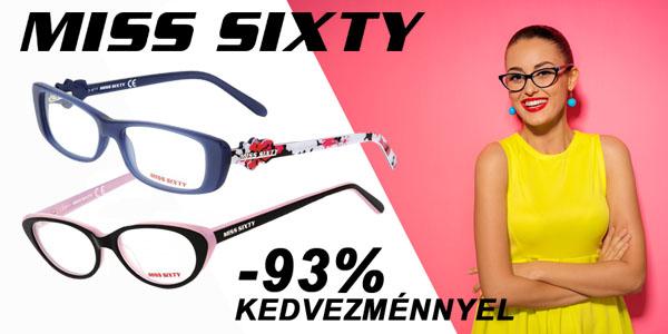 Miss Sixty szemüvegkeretek -93% kedvezménnyel!