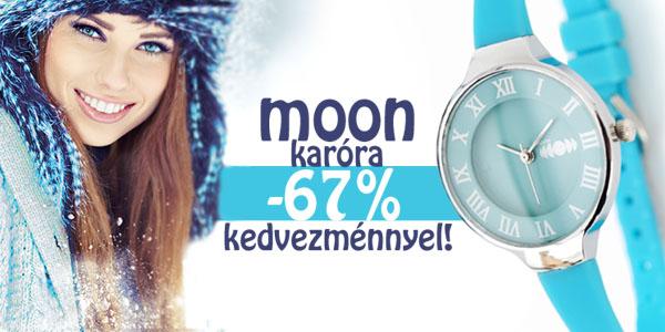 Moon karóra -67% kedvezménnyel