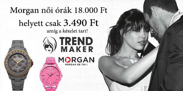 Morgan női óra