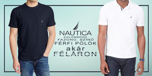 Nautica férfi pólók akár féláron!