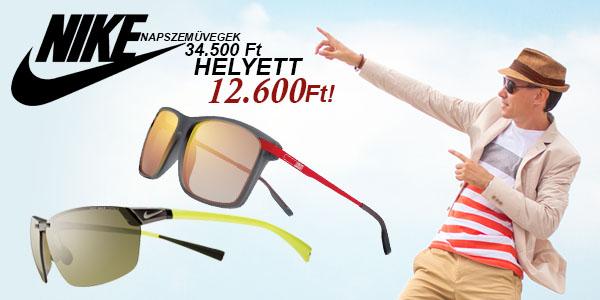 Nike napszemüvegek 12 600 Ft-ért!