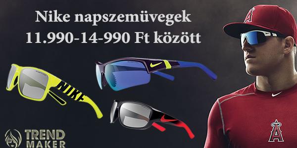 Nike napszemüvegek 11.990-14-990 Ft között