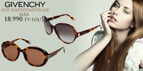 Givenchy női napszemüvegek 18 990 Ft-tól!