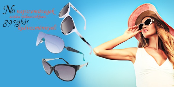 Női napszemüvegek széles választékban!