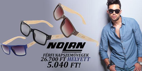 Nolan férfi napszemüvegek 5 040 Ft!