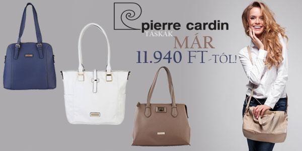 Pierre Cardin női táskák 11 940 Ft-ért!