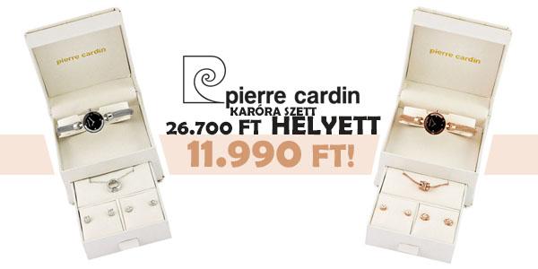 Pierre Cardin karóra szett 11.990 Ft!