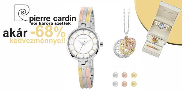 Pierre Cardin karóra szettek akár -68% kedvezménnyel!