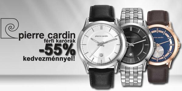 Pierre Cardin férfi karórák -55% kedvezménnyel!