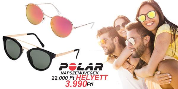 Polar napszemüvegek 3 990 Ft-ért!