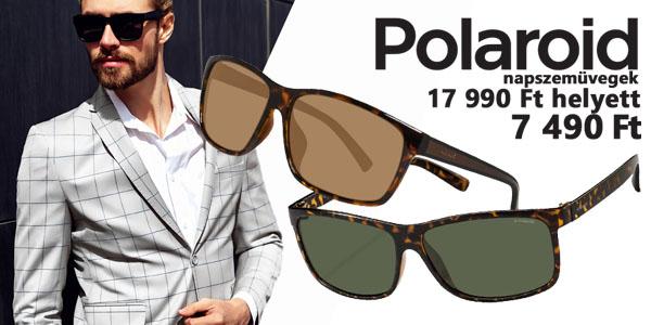 Polaroid napszemüvegek -58% kedvezménnyel!