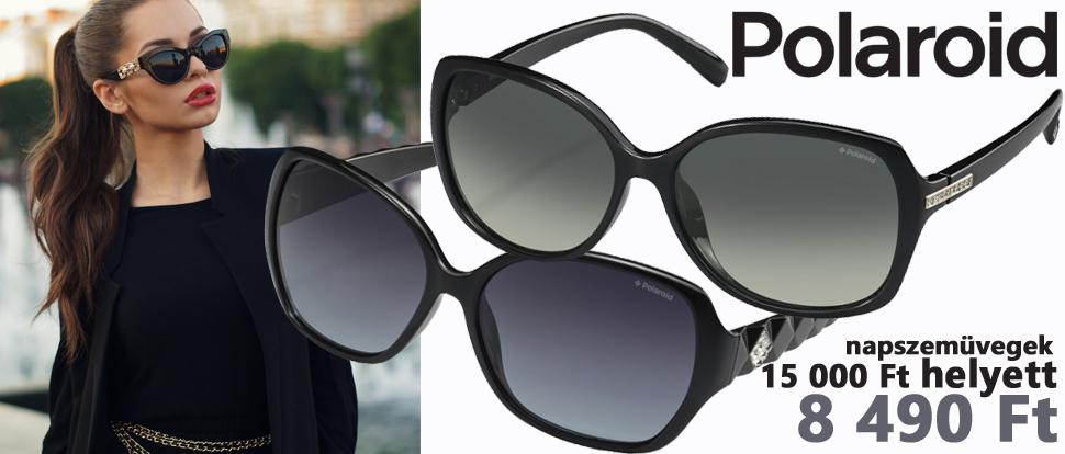 Polaroid napszemüvegek -43% kedvezménnyel!