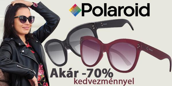 Polaroid napszemüvegek akár -70% kedvezménnyel!