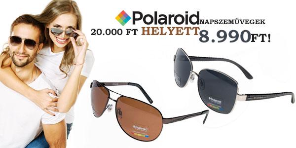Polaroid napszemüvegek 8 990 Ft-ért!
