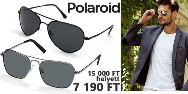 Polaroid férfi napszemüvegek 7 190 Ft-ért!