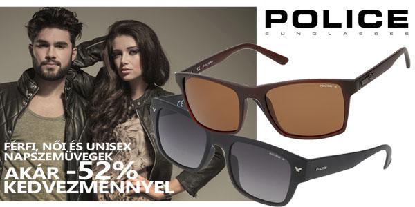 Police unisex napszemüvegek akár -52% kedvezménnyel!
