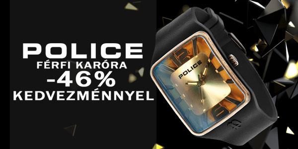 Police karóra -46% kedvezménnyel!