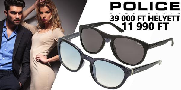 Police napszemüvegek -69% kedvezménnyel!