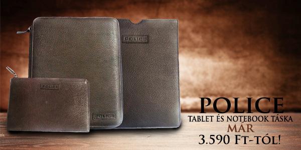 Police tablet és notebook táska 3 590 Ft-tól!