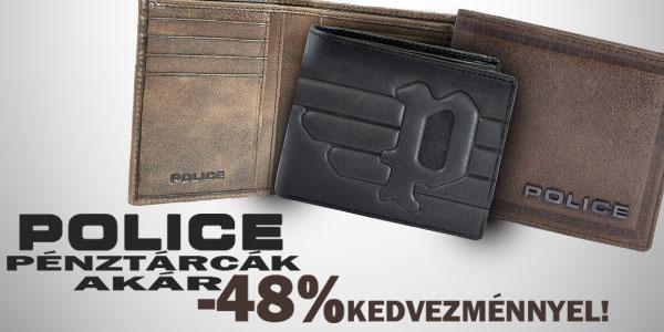 Police pénztárcák -48% kedvezménnyel