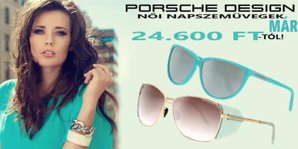 Porsche Design női napszemüvegek már 24 600 Ft-tól!