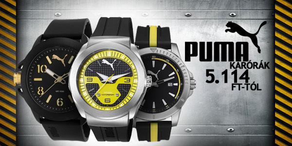 Puma férfi karórák 5 114 Ft-tól!