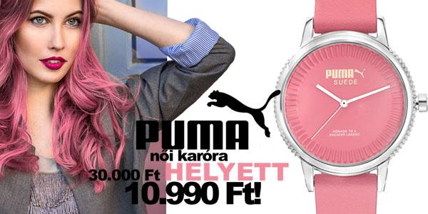 Puma pink karóra 10 990 Ft-ért!