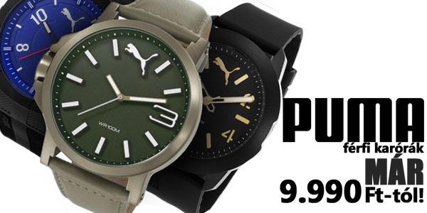 Puma karórák már 9 990 Ft-tól!