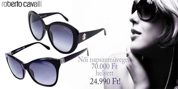 Roberto Cavalli női napszemüvegek akciósan