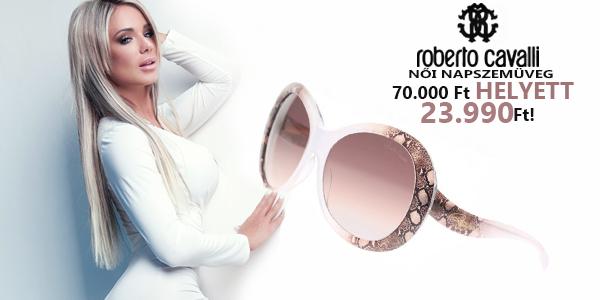Roberto Cavalli női napszemüvegek 23 990 Ft-ért!