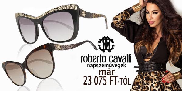 Roberto Cavalli napszemüvegek kedvezményesen!