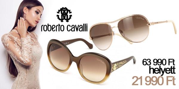 Roberto Cavalli napszemüvegek -66% kedvezménnyel!