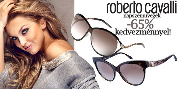 Roberto Cavalli napszemüvegek -65% kedvezménnyel!