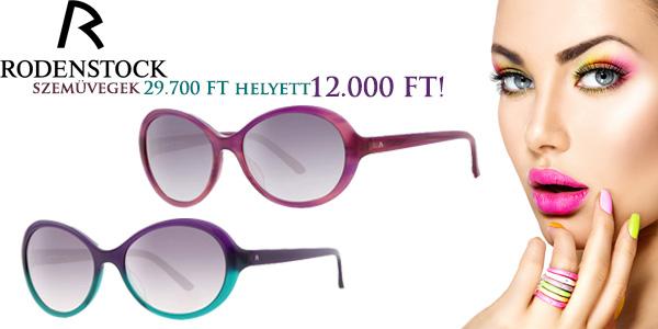 Rodenstock szemüvegek 12 000 Ft-tól!