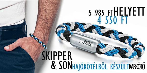 Skipper&Son karkötők -24% kedvezménnyel!