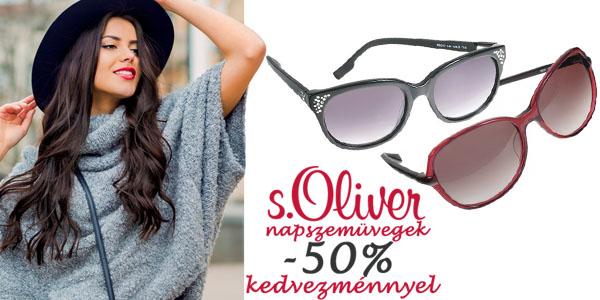 s.Oliver női napszemüvegek féláron!