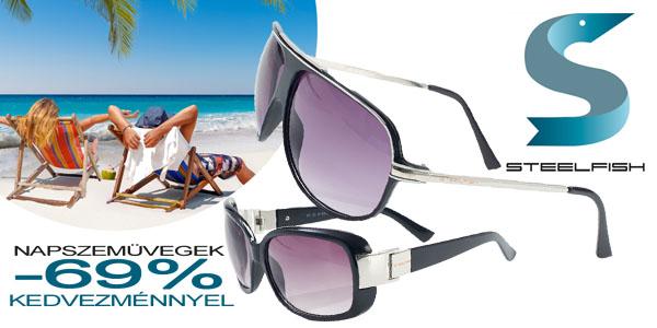 Steelfish férfi napszemüvegek -69% kedvezménnyel!