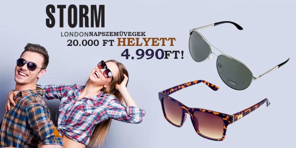 Storm London napszemüvegek 4 990 Ft-ért!