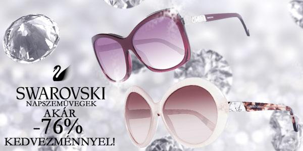 Swarovski napszmeüvegek akár -76% kedvezménnyel!