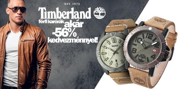Timberland férfi karórák akár -56% kedvezménnyel!