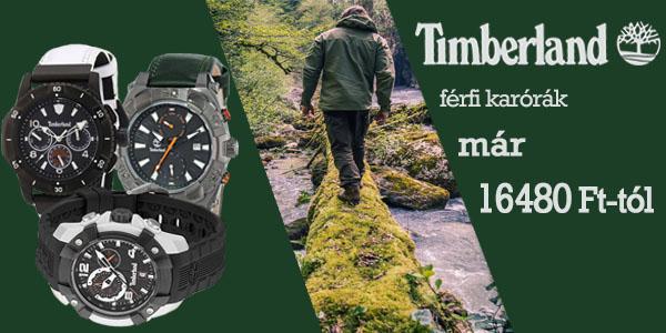 Timberland karórák 16 480 Ft-tól!